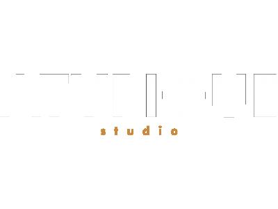 Logo ATYPIQUE STUDIO Blanc PNG
